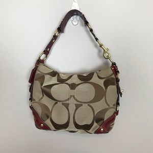 Coach Signature Carly Sac Shoulder Bag 10619